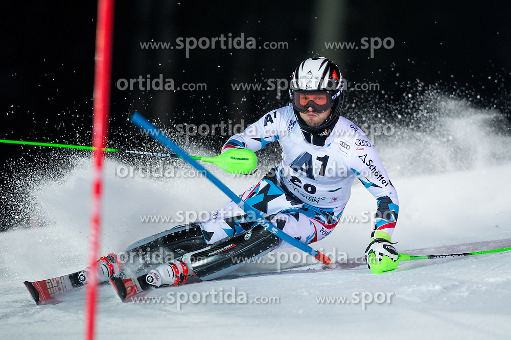 Christian Hirschbuehl (AUT) during the 7th Mens' Slalom of Audi FIS Ski World Cup 2016/17, on January 24, 2017 at the Planai in Schladming, Austria. Photo by Martin Metelko / Sportida