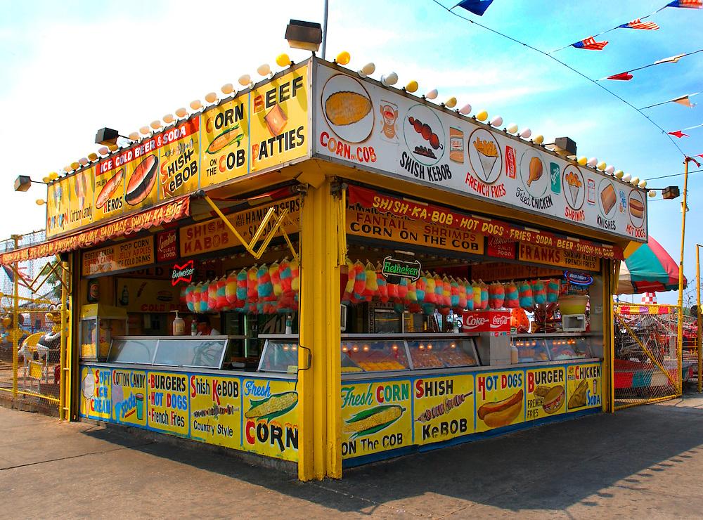 Coney Island New York Hot Dog Stand