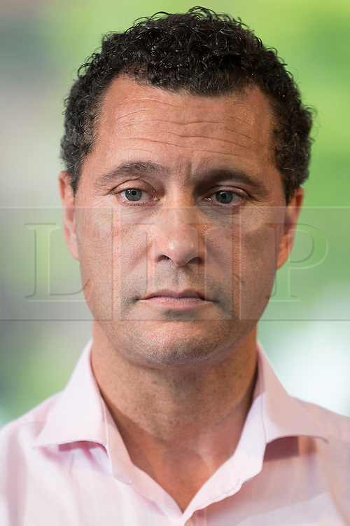 **FILE PIC - Steven Woolfe has been reportedly taken to hospital after collapsing at the European Parliament building in Strasbourg**<br /> © Licensed to London News Pictures . 26/07/2016 . Manchester , UK . STEVEN WOOLFE MEP speaks at a rally at the Castlefield Rooms in Manchester , setting out his bid to be the next leader of UKIP , following Nigel Farage's resignation . Woolfe is currently UKIP MEP for North West England and UKIP's Migration and Financial Affairs Spokesman . Photo credit : Joel Goodman/LNP