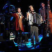 Jason Webley performs with special guest Amanda Palmer at the Moore Theatre, November 11th, 2011