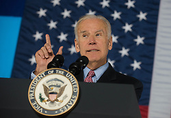 November 5, 2016 - Bristol, Pennsylvania, United States - Vice president Joe Biden speaks during a campaign event in support of Democratic presidential candidate Hillary Clinton in Bristol, Pennsylvania, on 5 November 2016, 3 days before the election. (Credit Image: © Zach D Roberts/NurPhoto via ZUMA Press)