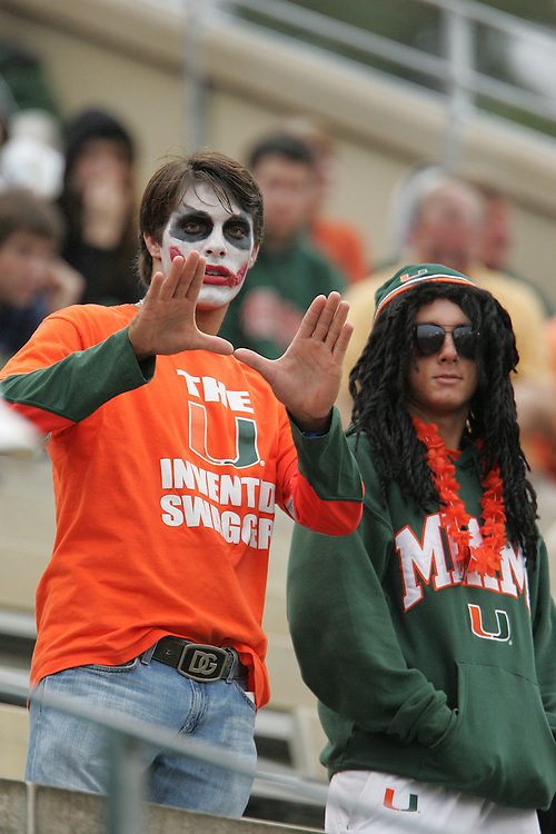 2009 Miami Hurricanes Football @ Wake Forest