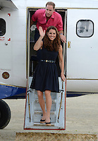 The Duke and Duchess of Cambridge visit Marau, Solomon Islands, as part of their Diamond Jubilee Tour of South East Asia, on the 17th September 2012<br />