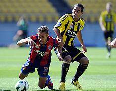Wellington-Football, A-League, Phoenix v Newcastle Jets, January 27