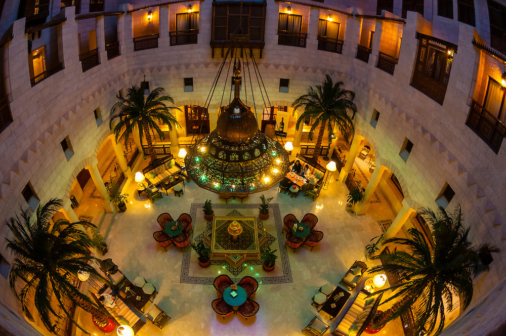 Interior view, Movenpick Resort Petra, Petra (Wadi Musa), Jordan.