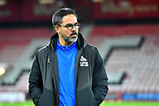 Huddersfield Town manager David Wagner walking the pitch before the Premier League match between Bournemouth and Huddersfield Town at the Vitality Stadium, Bournemouth, England on 4 December 2018.