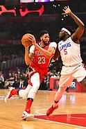 Clippers vs Pelicans 9 April 2018