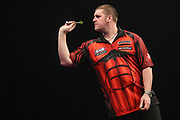 Daryl Gurney during the Grand Slam of Darts, at Aldersley Leisure Village, Wolverhampton, United Kingdom on 11 November 2019.