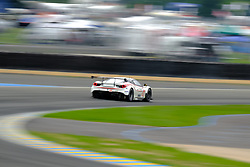 June 15, 2018 - Le Mans, Sarthe, France - MR  Racing Ferrari 488 GTE Driver MOTOAKI ISHIKAWA.(JPN) in action during the 86th edition of the 24 hours of Le Mans 2nd round of the FIA World Endurance Championship at the Sarthe circuit at Le Mans - France. (Credit Image: © Pierre Stevenin via ZUMA Wire)
