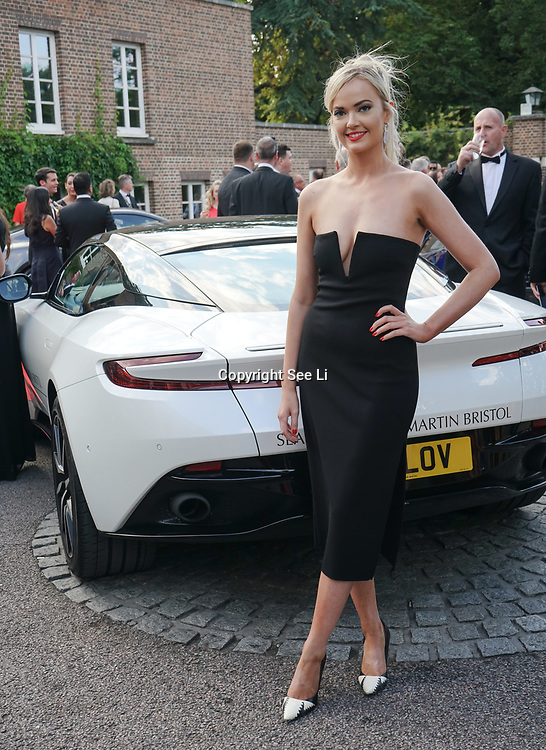 Hurlingham Club ,London, England, UK. 10th July, 2017. Charlie Fisher attend The Grand Prix Ball attracted a host of star-studded celebrity guests last night at Hurlingham Club , including Formula 1 drivers as well as iconic Formula 1 cars. Guests mingled with the elite whist being enterained with live performances by award winning UK artists and DJs ahead of the British Grand Prix at Silverstone.