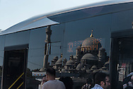 Turkey. Istambul. tramway station in Eminonu