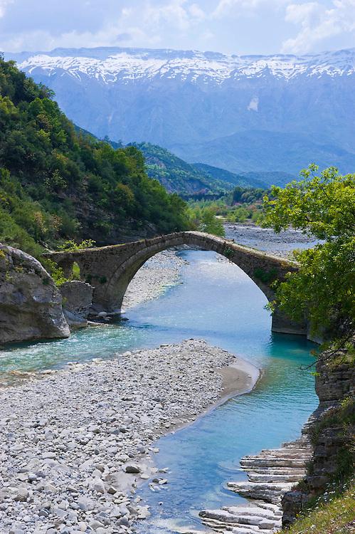 Römische Brücke von Benja, Albanien,Balkan*Roman bridge of Benja, Albania,Balkan