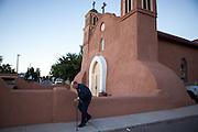 San Miguel Mission Church in Socorro New Mexico