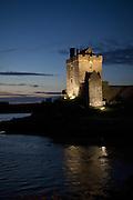 Dunguaire Castle in Kinvarra Ireland.  The Burren.