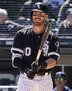 CHICAGO - APRIL 25:  Nicky Delmonico #30 of the Chicago White Sox bats against the Seattle Mariners on April 25, 2018 at Guaranteed Rate Field in Chicago, Illinois.  (Photo by Ron Vesely)   Subject:   Nicky Delmonico