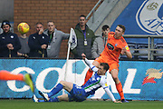 Wigan's Joe Garner chases the ball during the EFL Sky Bet Championship match between Wigan Athletic and Ipswich Town at the DW Stadium, Wigan, England on 23 February 2019.