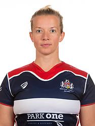 Sian Moore of Bristol Rugby Ladies - Mandatory by-line: Dougie Allward/JMP - 25/08/2016 - FOOTBALL - Cleve RFC - Bristol, England - Bristol Rugby Ladies