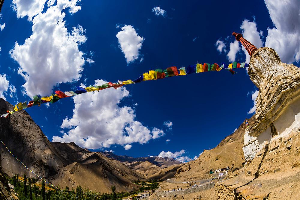Lamayuru Monastery, Ladakh; Jammu and Kashmir State, India.