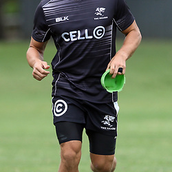 DURBAN, SOUTH AFRICA - MARCH 11: Patrick Lambie during the Cell C Sharks training session at Growthpoint Kings Park on March 11, 2014 in Durban, South Africa. (Photo by Steve Haag/Gallo Images)