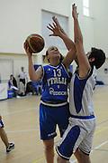 DESCRIZIONE : Roma Acqua Acetosa amichevole Nazionale Italia Donne<br /> GIOCATORE : Deborah Vicenzotti<br /> CATEGORIA : sottomano<br /> SQUADRA : Nazionale Italia femminile donne FIP<br /> EVENTO : amichevole Italia<br /> GARA : Italia Lazio Basket<br /> DATA : 27/03/2012<br /> SPORT : Pallacanestro<br /> AUTORE : Agenzia Ciamillo-Castoria/GiulioCiamillo<br /> Galleria : Fip Nazionali 2012<br /> Fotonotizia : Roma Acqua Acetosa amichevole Nazionale Italia Donne