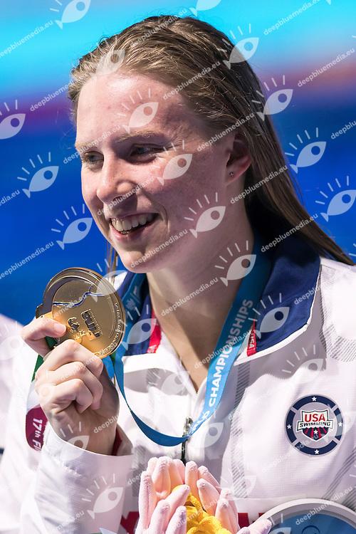 KING Lilly USA Gold Medal <br /> Women's 50m Breaststroke <br /> Swimming  <br /> 30/07/2017 <br /> XVII FINA World Championships Aquatics<br /> Duna Arena Budapest Hungary <br /> Photo Andrea Staccioli/Deepbluemedia/Insidefoto