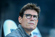 Newcastle United first team coach Mikel Antia during the Premier League match between Newcastle United and Southampton at St. James's Park, Newcastle, England on 20 April 2019.