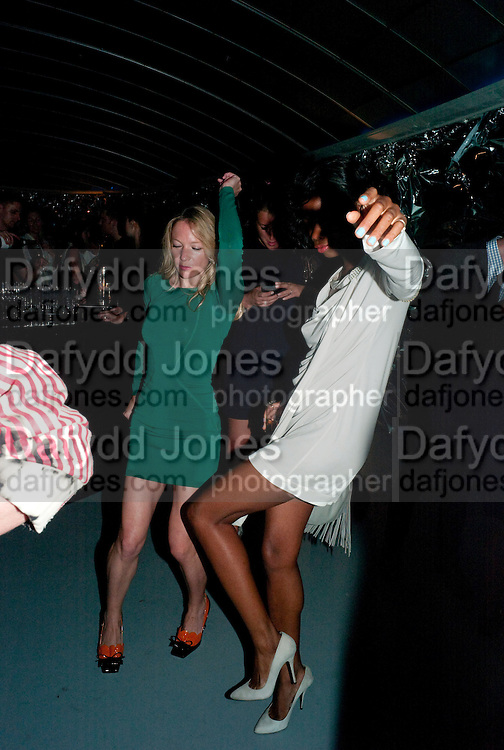 NATHALIE PRESS; TOLULA ADEYEMI, Mark Jacobs' Bang' fragrance preview. Harvey Nicholls. London. 22 July 2010. -DO NOT ARCHIVE-© Copyright Photograph by Dafydd Jones. 248 Clapham Rd. London SW9 0PZ. Tel 0207 820 0771. www.dafjones.com.