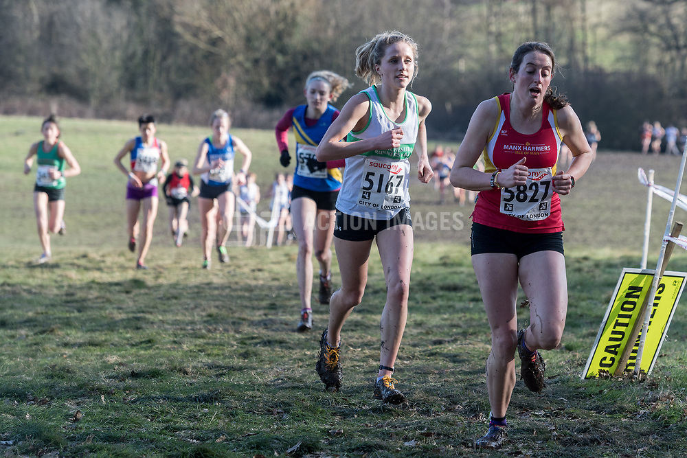 National Cross Country Championships, Parliament Hill, London, UK on 24 February 2018. Photo: Simon Parker