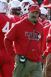 05 November 2011:  Brock SPack during an NCAA football game between the Western Illinois Leathernecks and the Illinois State Redbirds at Hancock Stadium in Normal IL
