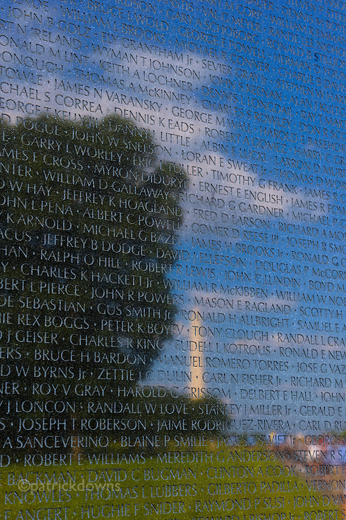 "Vietnam Memorial – ""The Wall"" on a gorgeous summer day."