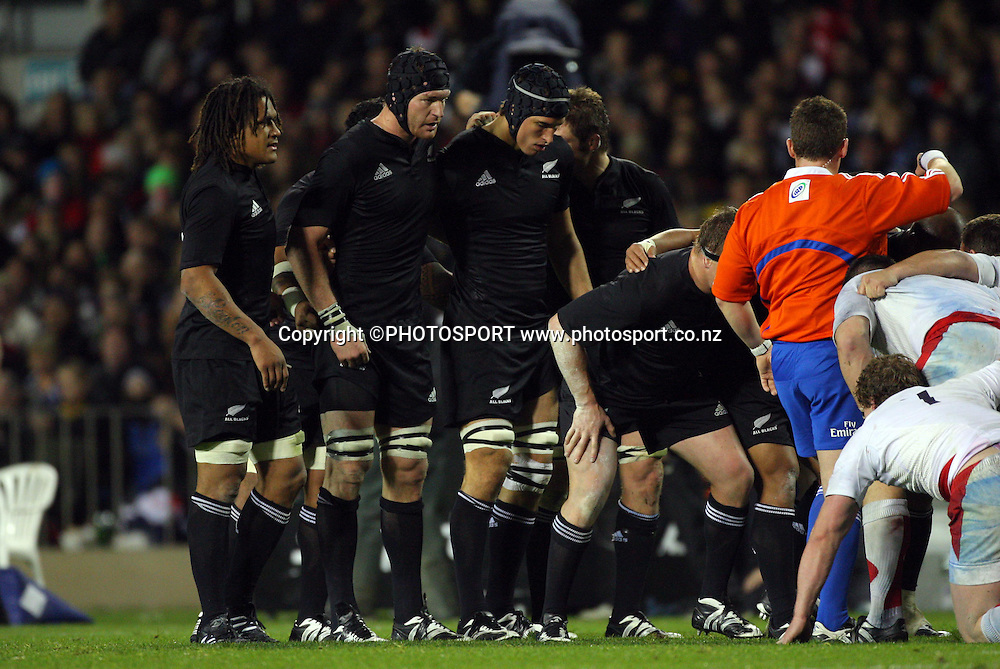 Iveco Test Match Series. All Blacks vs England, 1st test match, Eden Park, Auckland, New Zealand. Photo: Andrew Cornaga/PHOTOSPORT