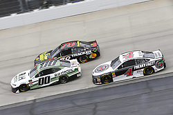 May 6, 2018 - Dover, Delaware, United States of America - Martin Truex, Jr (78), Landon Cassill (00) and Kevin Harvick (4) battle for position during the AAA 400 Drive for Autism at Dover International Speedway in Dover, Delaware. (Credit Image: © Chris Owens Asp Inc/ASP via ZUMA Wire)