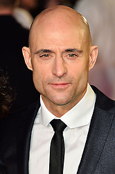 © Licensed to London News Pictures. 22/02/2016. MARK STRONG attends the GRIMSBY Film premiere. The film centres around a black-ops spy whose brother is a football hooligan.  London, UK. Photo credit: Ray Tang/LNP