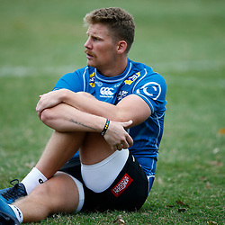 Robert du Preez of the Cell C Sharks during The Cell C Sharks training session at Jonsson Kings Park Stadium in Durban, South Africa. 21 May 2019 (Mandatory Byline Steve Haag)
