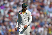 Nathan Lyon of Australia during the 5th International Test Match 2019 match between England and Australia at the Oval, London, United Kingdom on 14 September 2019.