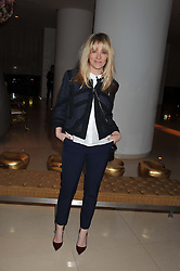 EDITH BOWMAN at an after show party following the opening night of All New People held at the St.Martin's Lane Hotel, London on 28th February 2012.