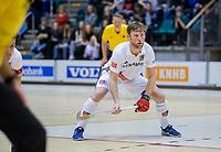 ROTTERDAM  - NK Zaalhockey . finale heren: SCHC-Amsterdam (2-2, SCHC wint shoot-outs) . Robert Tigges (A'dam)   COPYRIGHT KOEN SUYK