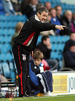 Photo: Paul Thomas.<br /> Leeds United v Southampton. Coca Cola Championship. 18/11/2006.<br /> <br /> George Burley, manager of Southampton.