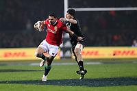 Rugby Union - 2017 British & Irish Lions Tour of New Zealand - Maori All Blacks vs. British & Irish Lions<br /> <br /> Ben Te'o of The British and Irish Lions and  at Rotorua International Stadium, Rotorua.<br /> <br /> COLORSPORT/LYNNE CAMERON