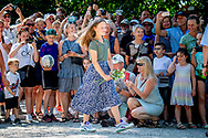 15-7-2018 GRASTEN DENMARK - Crown Prince Frederik and Crown Princess Mary attended with children Prince Christian Princess Isabella, Prince Vincent and Princess Josephine a horse parade at Grasten Slot during the horse parade copyright Robin utrecht 15-7-2018 GRASTEN DENMARK - Crown Prince Frederik and Crown Princess Mary attended with children Prince Christian Princess Isabella, Prince Vincent and Princess Josephine a horse parade at Grasten Slot during the horse parade copyright Robin utrecht <br /> 15-7-2018 GRASTEN<br /> DENEMARKEN - Kroonprins Frederik en Kroonprinses Maria woonden met kinderen Prins Christian Princess Isabella, Prins Vincent en Prinses Josephine een paardenparade bij Grasten Slot bij tijdens de paardenparade copyright Robin utrecht
