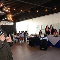 Toluca, México (Septiembre 20, 2016).- Yuri Montañez, de la delegación de Economía, durante su reunión con integrantes de la Asociación Mexicana de Mujeres Jefas de Empresas en el Estado de México (AMMJE),  que encabeza Rocío Fuentes Ríos, durante el ciclo de conferencias impartidas por expertos en economía y administración.  Agencia MVT / José Hernández