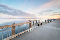 Boulevard Park Boardwalk, Taylor Dock on Bellingham Bay, Bellingham Washington