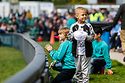 Young autograph hunters during the One Day International match between England and Ireland at the Brightside County Ground, Bristol, United Kingdom on 5 May 2017. Photo by Andrew Lewis.