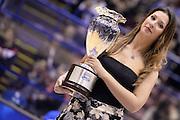 DESCRIZIONE : Milano Coppa Italia Final Eight 2014 Semifinale Banco di Sardegna Sassari Grissin Bon Reggio Emilia<br /> GIOCATORE : Madrina<br /> CATEGORIA : Pregame Curiosita<br /> SQUADRA : <br /> EVENTO : Beko Coppa Italia Final Eight 2014<br /> GARA : Banco di Sardegna Sassari Grissin Bon Reggio Emilia<br /> DATA : 08/02/2014<br /> SPORT : Pallacanestro<br /> AUTORE : Agenzia Ciamillo-Castoria/R.Morgano<br /> Galleria : Lega Basket Final Eight Coppa Italia 2014<br /> Fotonotizia : Milano Coppa Italia Final Eight 2014 Semifinale Banco di Sardegna Sassari Grissin Bon Reggio Emilia<br /> Predefinita :