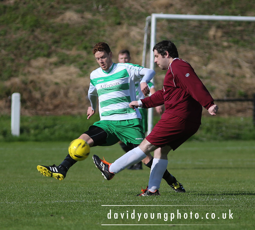 - Lochee (green and white) v West End (maroon) - Dundee Summer League Cup final - © David Young - www.davidyoungphoto.co.uk - email: davidyoungphoto@gmail.com