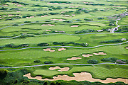 The Harborside International Golf Course is built on top of a former solid-waste landfill at Lake Calumet.  As urban space becomes more limited, cities are finding new ways to repurpose unused and wasted land.