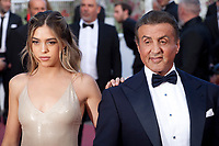 Sistine Rose Stallone and Sylvester Stallone at the closing ceremony and The Specials film gala screening at the 72nd Cannes Film Festival Saturday 25th May 2019, Cannes, France. Photo credit: Doreen Kennedy