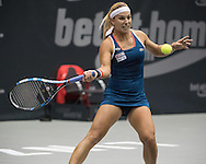 Dominika Cibulkova (SVK) on Day Three of the WTA Generali Ladies Linz Open at TipsArena, Linz<br /> Picture by EXPA Pictures/Focus Images Ltd 07814482222<br /> 12/10/2016<br /> *** UK & IRELAND ONLY ***<br /> <br /> EXPA-REI-161012-5020.jpg