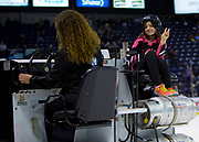 KELOWNA, CANADA - OCTOBER 04:  Orchard Park Junior Zamboni Driver at the Kelowna Rockets game on October 04, 2017 at Prospera Place in Kelowna, British Columbia, Canada.  (Photo By Cindy Rogers/Nyasa Photography,  *** Local Caption ***