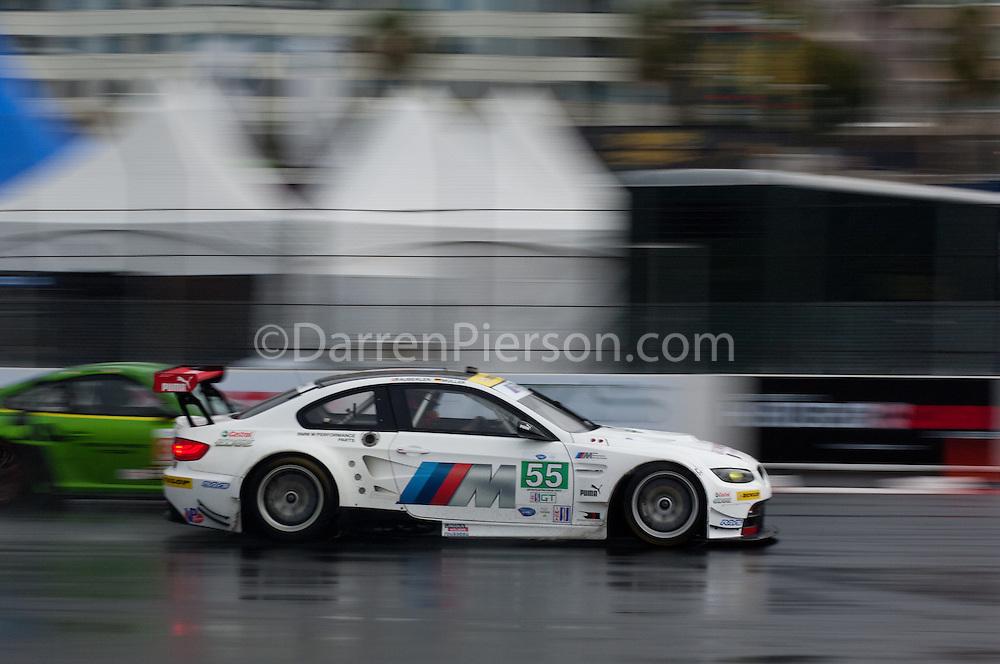 #55 BMW Team RLL BMW M3 GT: Bill Auberlen, Jorg Muller